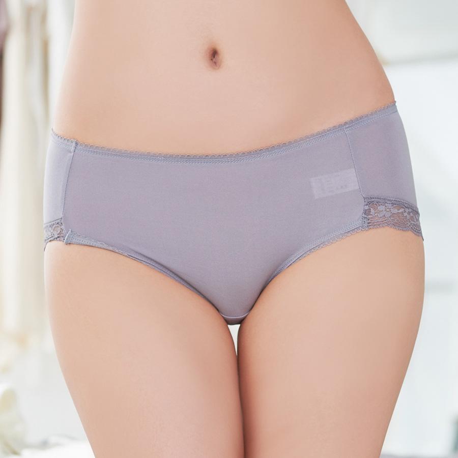 【輕柔羽感】莫代爾棉低腰三角褲