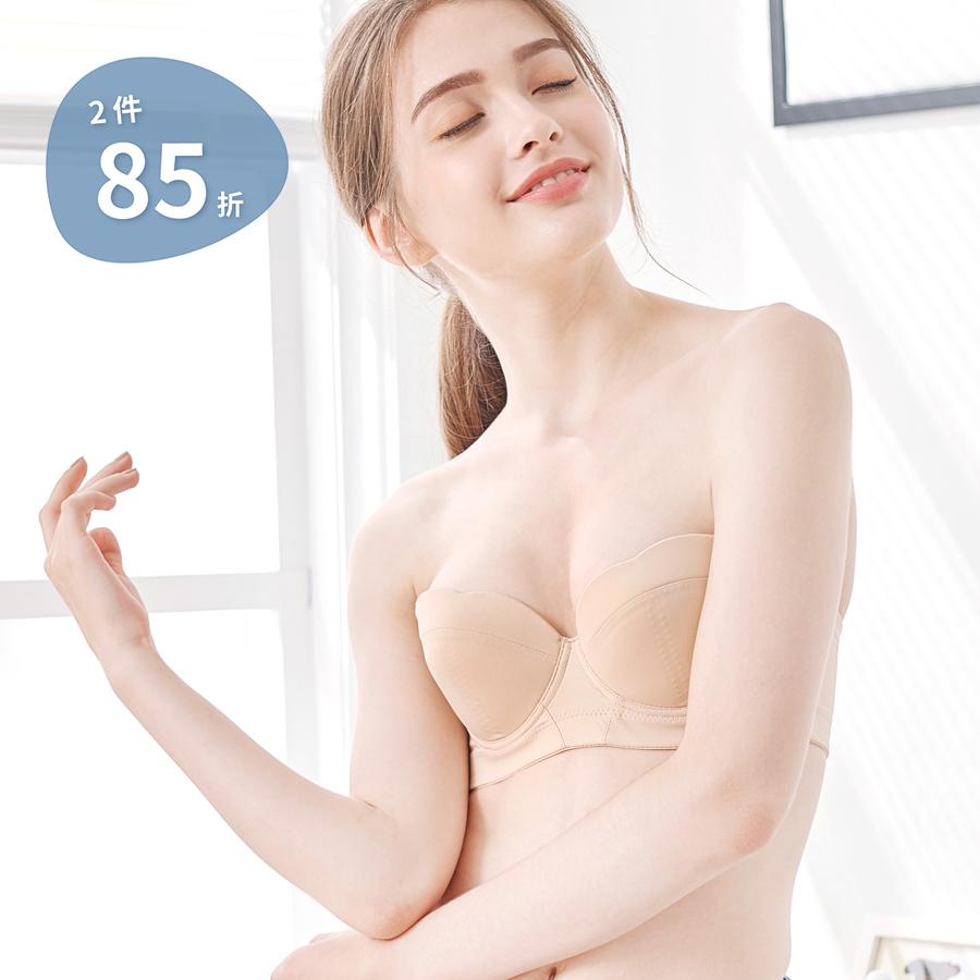 【曼活】圓舞曲 微馬甲無肩帶內衣